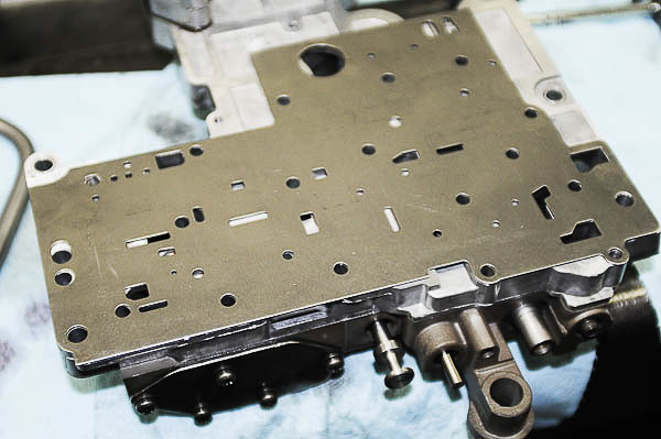 Spacer plate clean and ready for installation