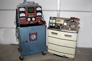 Diagnostics tools and distributor machine from FSJ era