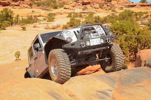 Warn Winching Demonstration at Moab 2010