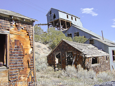 White Pine Mining District and the Belmont Mine at eastern Nevada