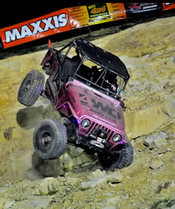Team #311 Pink Jeep Rock Crawler
