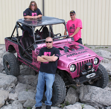 Moses Ludel's 4WD Mechanix Magazine – Jeep 4WD Team 'Crawl to Cure Cancer'