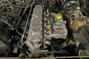 4.0L swaps into earlier CJ and YJ Wrangler 2.5L four 4.2L inline six chassis are popular.