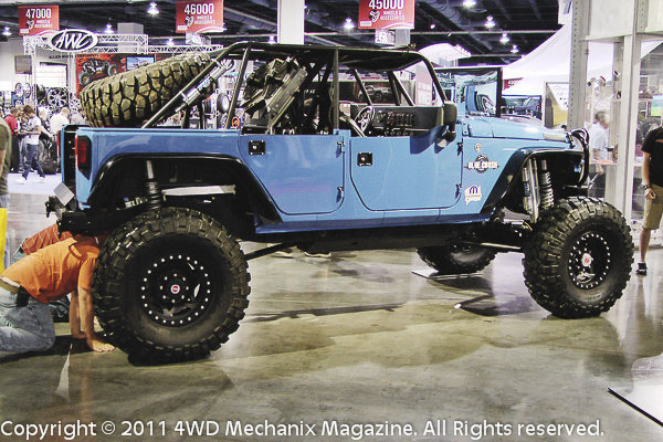 SEMA Show 2011 Jeep JK Wrangler display vehicles