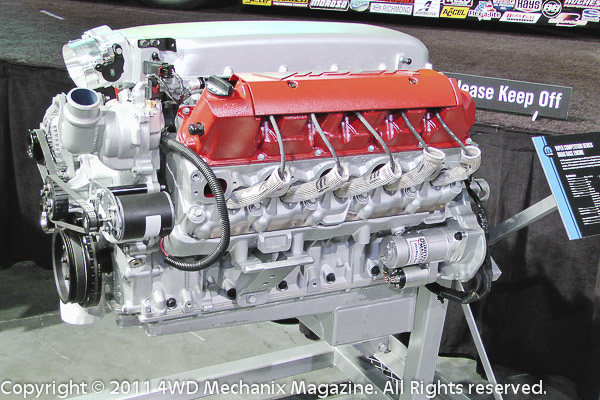 Viper V-10 is the most formidable Chrysler engine in the lineup. For Mopar Performance buffs, this is the engine!