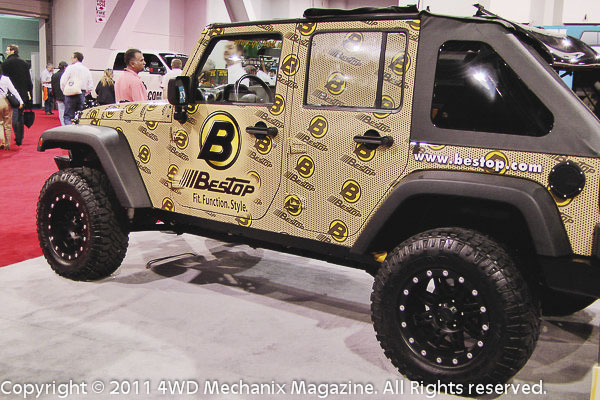 Bestop at the 2011 SEMA Show, Las Vegas, Nevada!