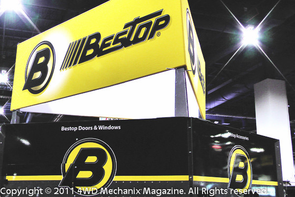 Bestop at the SEMA Show, Las Vegas, Nevada!