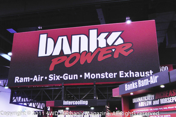 Banks Power at the SEMA Show 2011