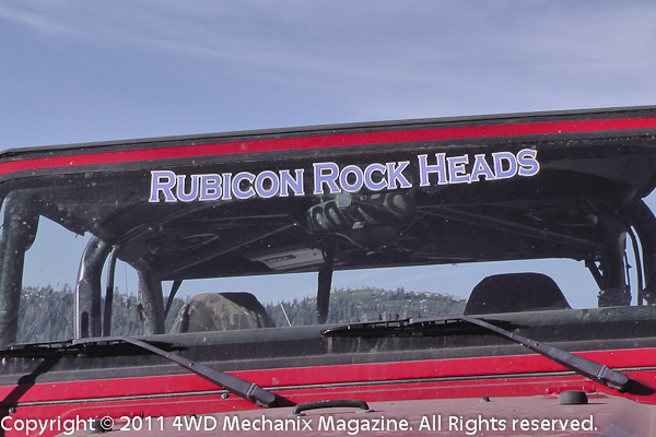Several drivers were with the Rockheads, others from NorCal and Pirates of the Rubicon