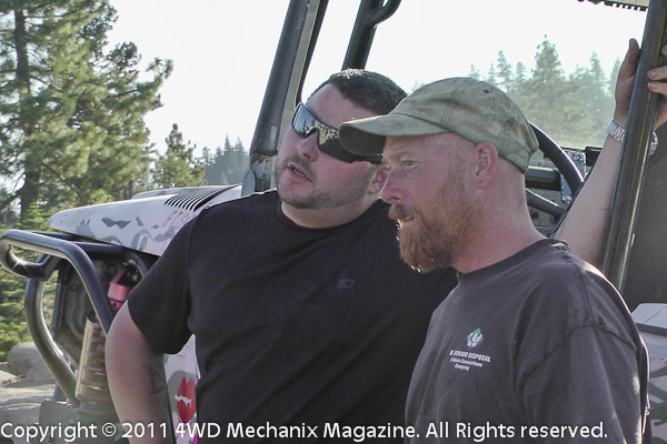 Vets and 4WD volunteer drivers make the WFTW Rubicon Super Event a success!