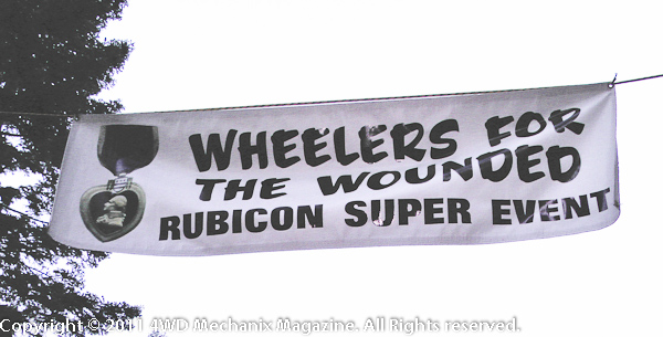 The Wheelers for the Wounded Rubicon Super Event!