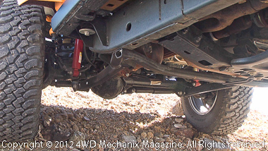 Beam Dana 44 axles with manual lockers and 32