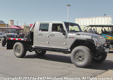 Heavy Duty 2500 Jeep Quad-Cab pickup concept vehicle at Moab