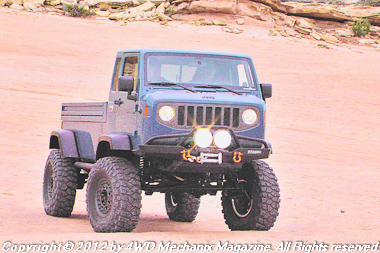 Mopar concept vehicle at 2012 Moab Jeep Safari