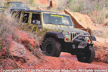 Bestop Media Run at the 2012 Moab Jeep Safari