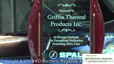 Griffin Thermal Products and Griffin Radiator at SEMA 2012