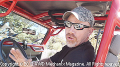 Dan Hiney talks about the tests performed at rock crawling on the Rubicon Trail.