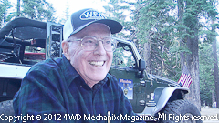 WWII Vet Francis Resta talks about the WFTW Rubicon trail run and more!