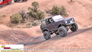 2013 Bestop run at Moab with a Suzuki Samurai