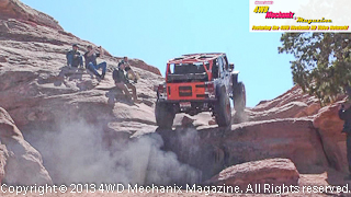 Diesel powered Jeep JK Wrangler on 2013 Warn Moab Media Run