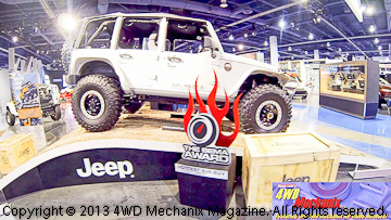 Jeep Mopar's Wrangler Recon concept vehicle at 2013 SEMA Show