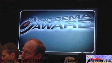 2013 SEMA Awards ceremony