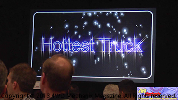 Ford Wins 2013 SEMA Hottest Truck Award.