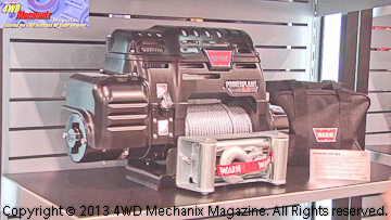 Warn Powerplant winch at 2013 SEMA Show
