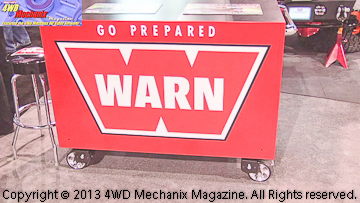 The Warn Garage at 2013 SEMA Show