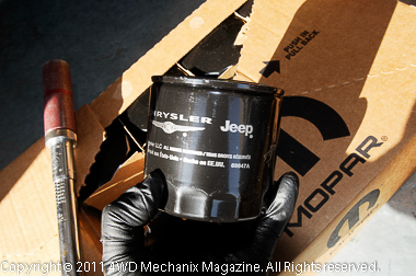Mopar 05281090 oil filter