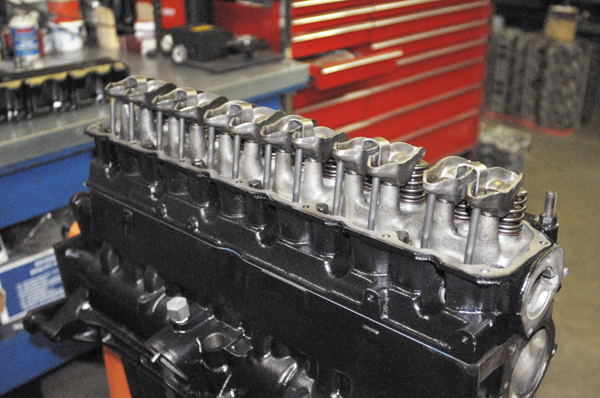 4.0L valvetrain for use in the 4.6L stroker motor build-up