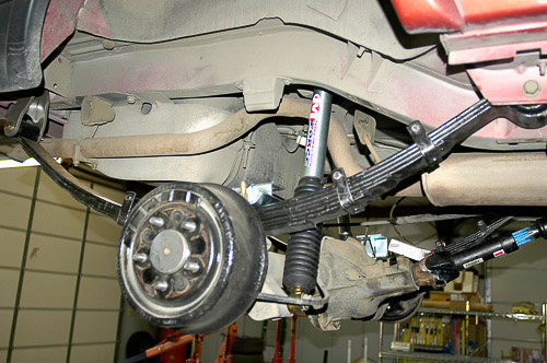 XJ Cherokee rear springs