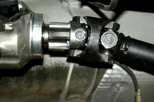 SYE plus the CV rear driveshaft