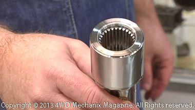 Precision machining at Paso Robles, California facility