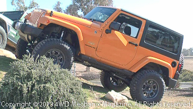 New 2012 Jeep JK Wrangler for prototyping new products