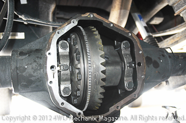 11.5 AAM axle with new 4.56:1 ring-and-pinion gears