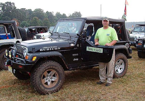 A trail guide at Camp Jeep events, all enjoys four-wheeling with friends and other Jeep owners!