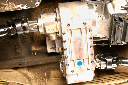 Installing the Advance Adapters Atlas II transfer case!
