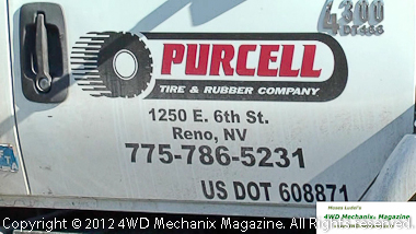 Purcell Tire & Rubber mounts and balance the BFG tires.