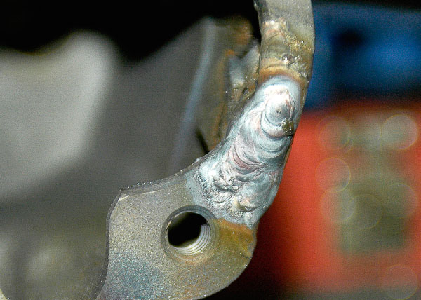 TIG process optimal for cast iron casting repairs