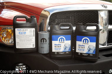 Mopar lubricants and service products are a key way to maintain and extend the service life of your Dodge-Ram truck!