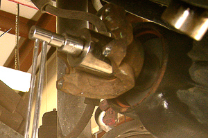 Dana 30 axle rebuild Step 12.