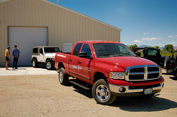 The '05 Dodge Ram 3500 equipped for comfort, power and the long haul!