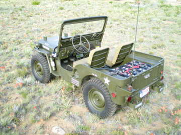 Mike Picard's 1952 M38 Willys military Jeep