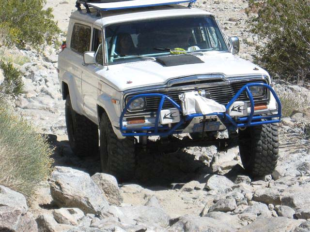 Full-Size Cherokee at Sheep Canyon 2008