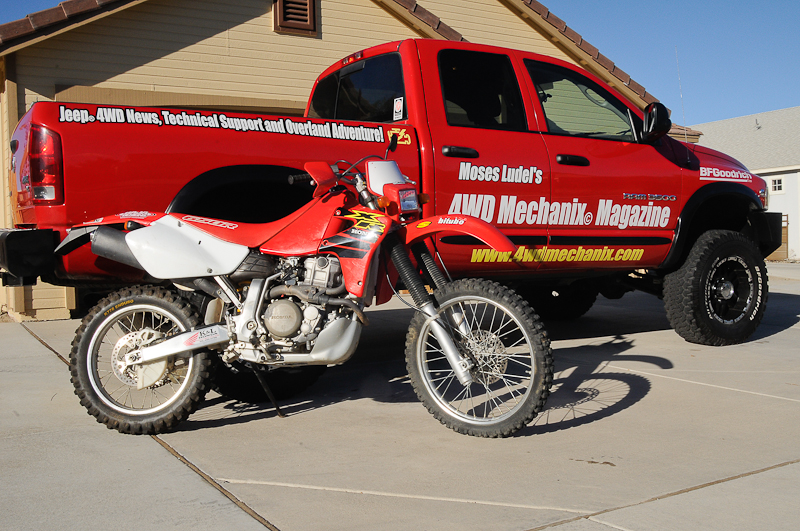 The 4WD Mechanix Magazine Honda XR650R Motorcycle