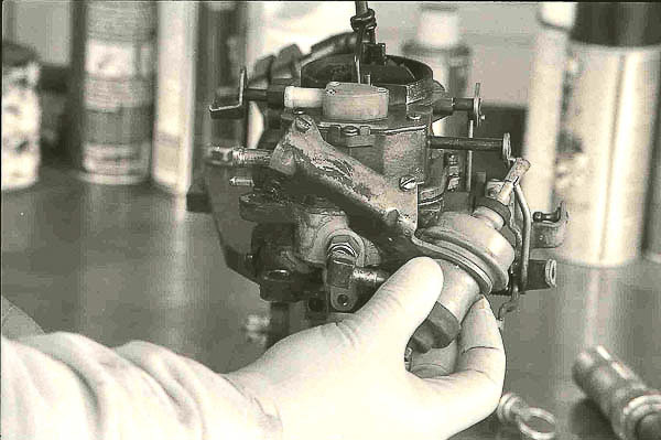 Sole-Vac device on the BBD carburetor