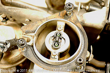 Throat of throttle body