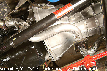 Engine swap exhaust systems
