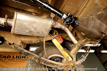 Exhaust modifications and fabrication
